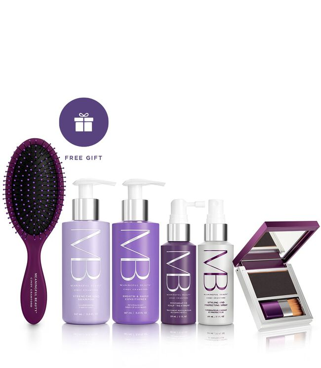5-Piece Age-Proof Hair Care System - Black