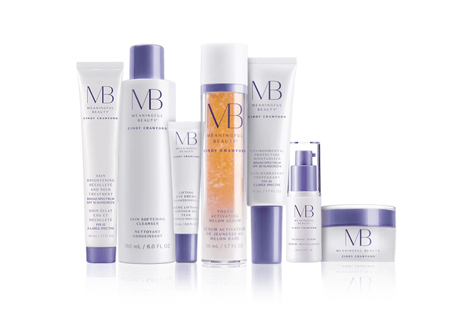 Meaningful Beauty VII 90-Day 7-Piece Deluxe Entry Kit w/ Neck+Decollete Treatment, GS Treatment Upsells