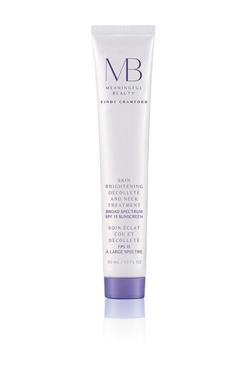 Skin Brightening Décolleté and Neck Treatment Broad Spectrum SPF 15
