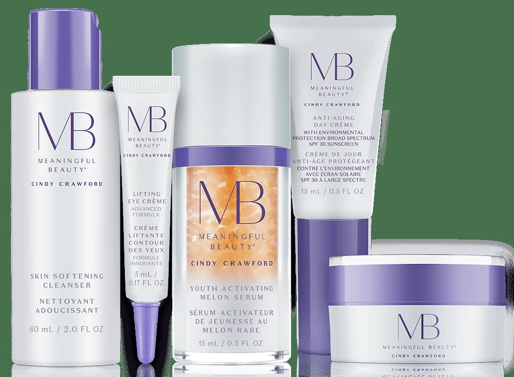 Meaningful Beauty 5-piece skincare kit
