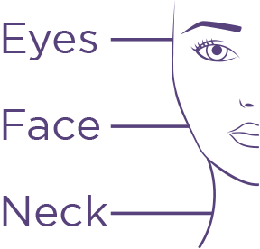 Eyes, Face, Neck Diagram