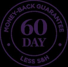 60Day Money-Back Gurantee